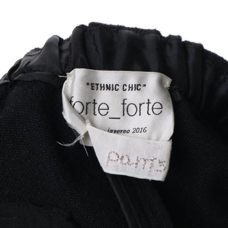 Forte Forte in Hose Forte Schwarz Schwarz Forte PEwdwISq