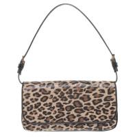 Dolce & Gabbana clutch con stampa animalier