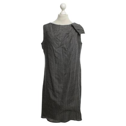 Odeeh Kleid in Schwarz/Weiß