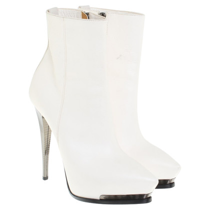Lanvin Ankle boots in white