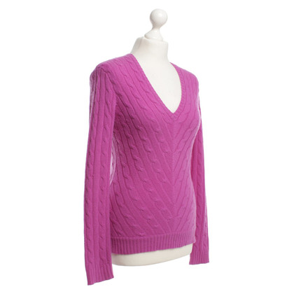 Ralph Lauren Black Label Kaschmirpullover in Pink