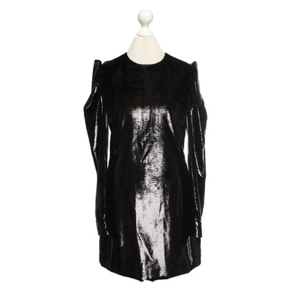 Saint Laurent Robe en noir