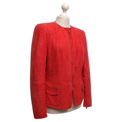 Escada Leather jacket in red
