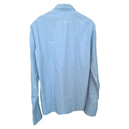 Dries van Noten camicia blu