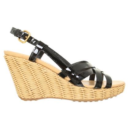 Car Shoe Sandali con tacco a zeppa