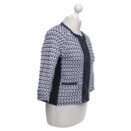 Max & Co Blazer in Blu / Bianco
