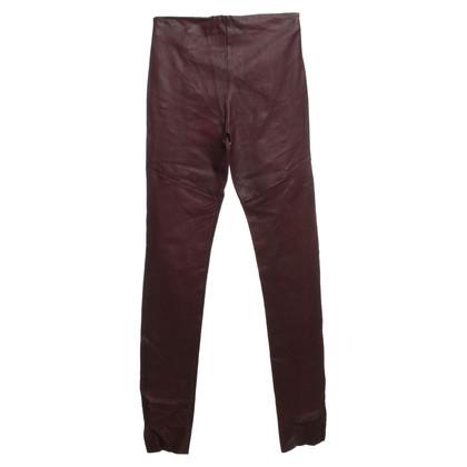 C'est tout Pants in leather optics
