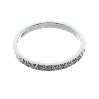 Tiffany & Co. Platinum ring with diamonds