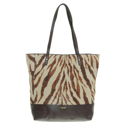 Ralph Lauren Tote Bag mit Animal Print