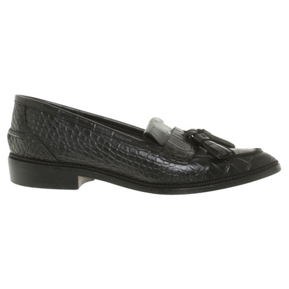 The Kooples Slipper avec reptile bosselage