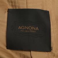 Agnona Blazer met gouden knopen
