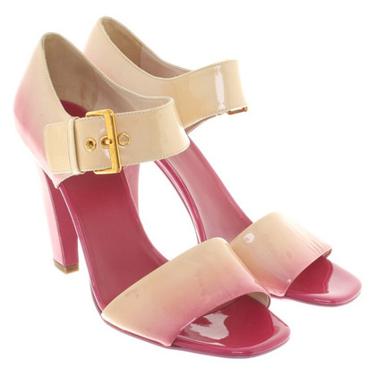 Prada Sandaletten mit Farbverlauf