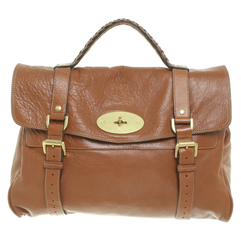 d542fe2615a ... germany mulberry alexa bag in brown c91be f4cd6