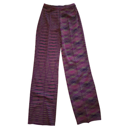 Missoni Strickhose in Violet
