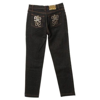 Blumarine Jeans with Rhinestone applications