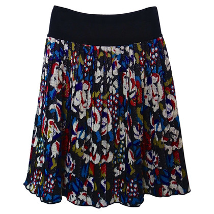 Missoni Fold pleated skirt wool