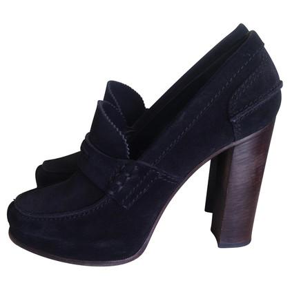 Céline Suede loafers