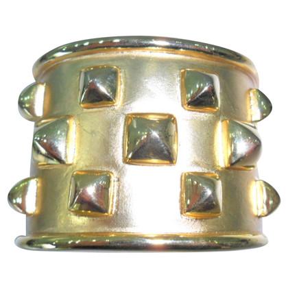 Kenneth Jay Lane Goudkleurige armband