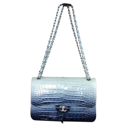 """Chanel """"Jumbo Double Flap Bag"""" from alligator leather"""