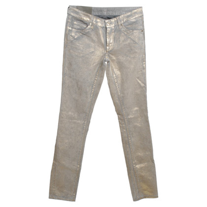 7 For All Mankind Coated jeans in gold