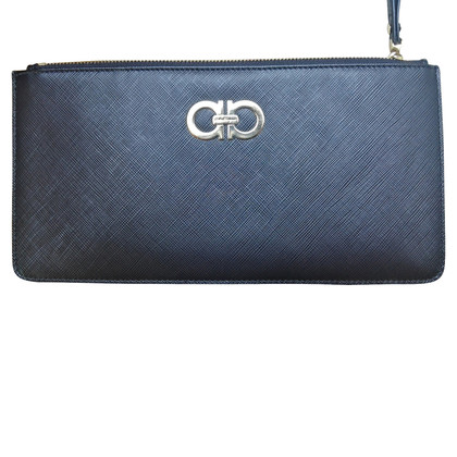 Salvatore Ferragamo clutch in black