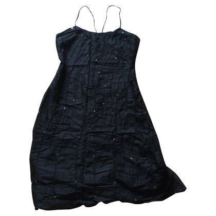 Versus Schwarzes Kleid mit Pailletten