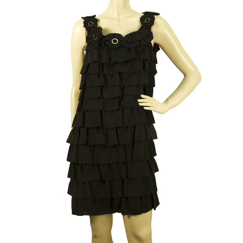 Moschino Love Schwarzes Kleid - Second Hand Moschino Love ...