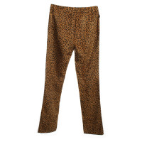 Moschino trousers in brown / black