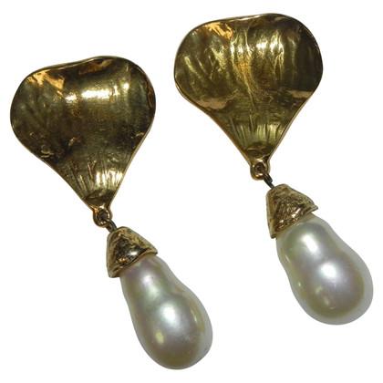 Saint Laurent ear clips