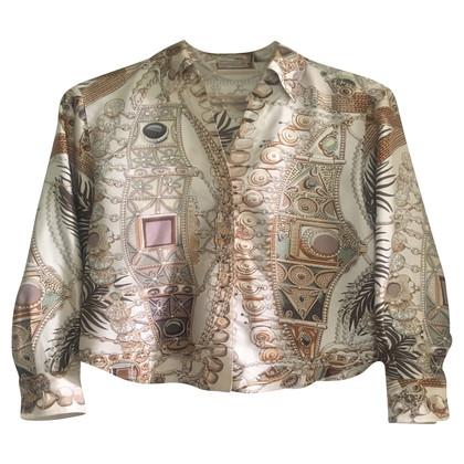 Hermès silk shirt