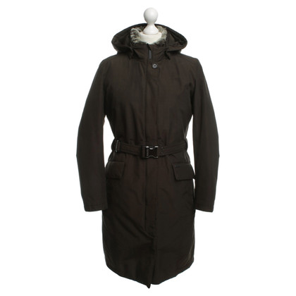 Woolrich Down coat in olive green
