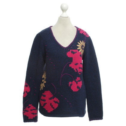 Escada Sweater in dark blue