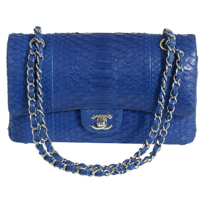 "Chanel ""Classic Double Flap Bag Medium"" aus Pythonleder"
