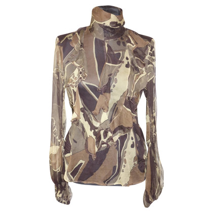 Escada Silk blouse with pattern