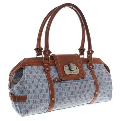 Hugo Boss Canvas / leather handbag