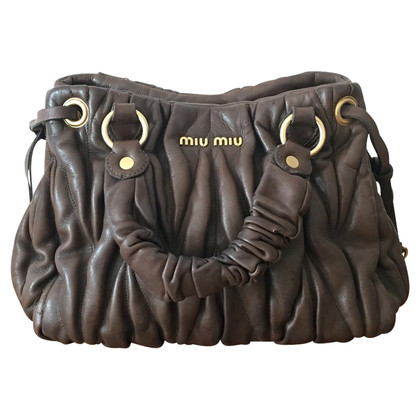 Miu Miu Handbag made of matelassé leather