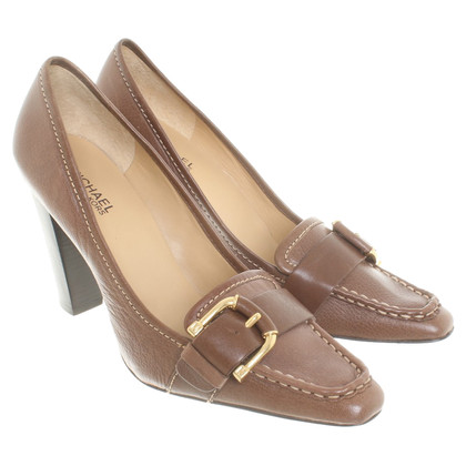 Michael Kors Leather pumps in brown