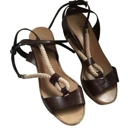 Chloé Sandales plates-formes