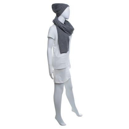Roeckl Sciarpa e cappello di colore grigio
