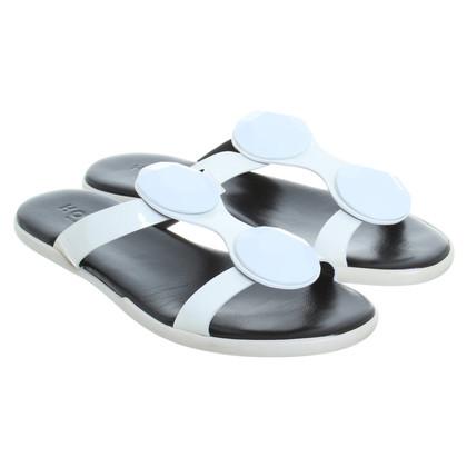 Hogan Sandals in white