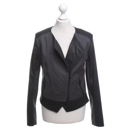 Drykorn Jacket in zwart / grijs