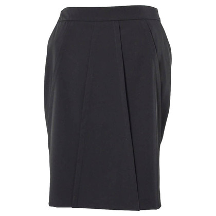 Piu & Piu Black skirt with pleats