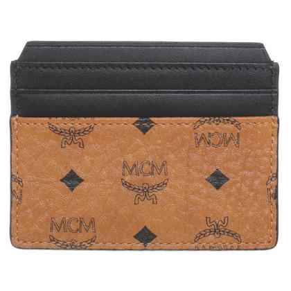 MCM Card etui met logo patroon