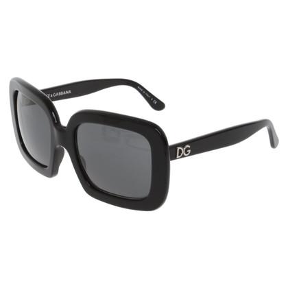 Dolce & Gabbana Occhiali da sole in nero