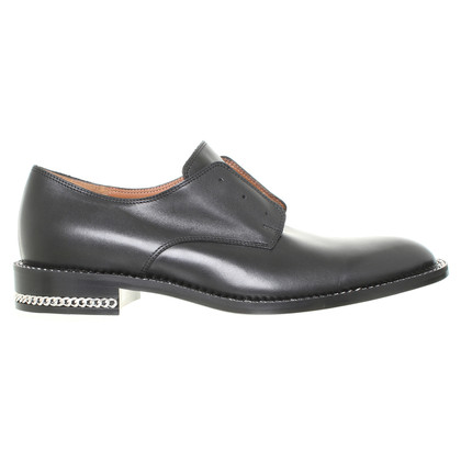 Givenchy Leder-Slipper in Schwarz
