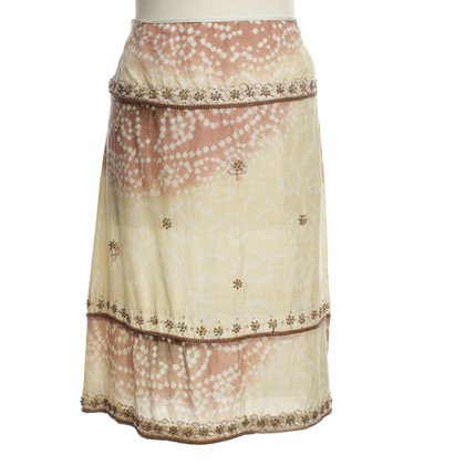 Day Birger & Mikkelsen Silk skirt with pattern