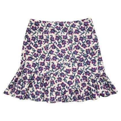 Set skirt made of silk