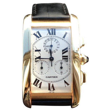 "Cartier Clock ""Tank Américaine"""