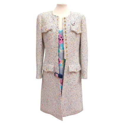 Chanel Seidenkleid & Mantel