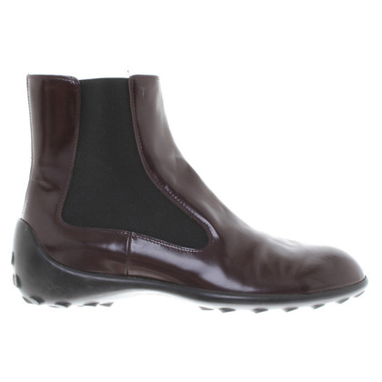 Tod's Ankle boots in Bordeaux